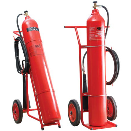Bình chữa cháy xe đẩy khí CO2 MT24